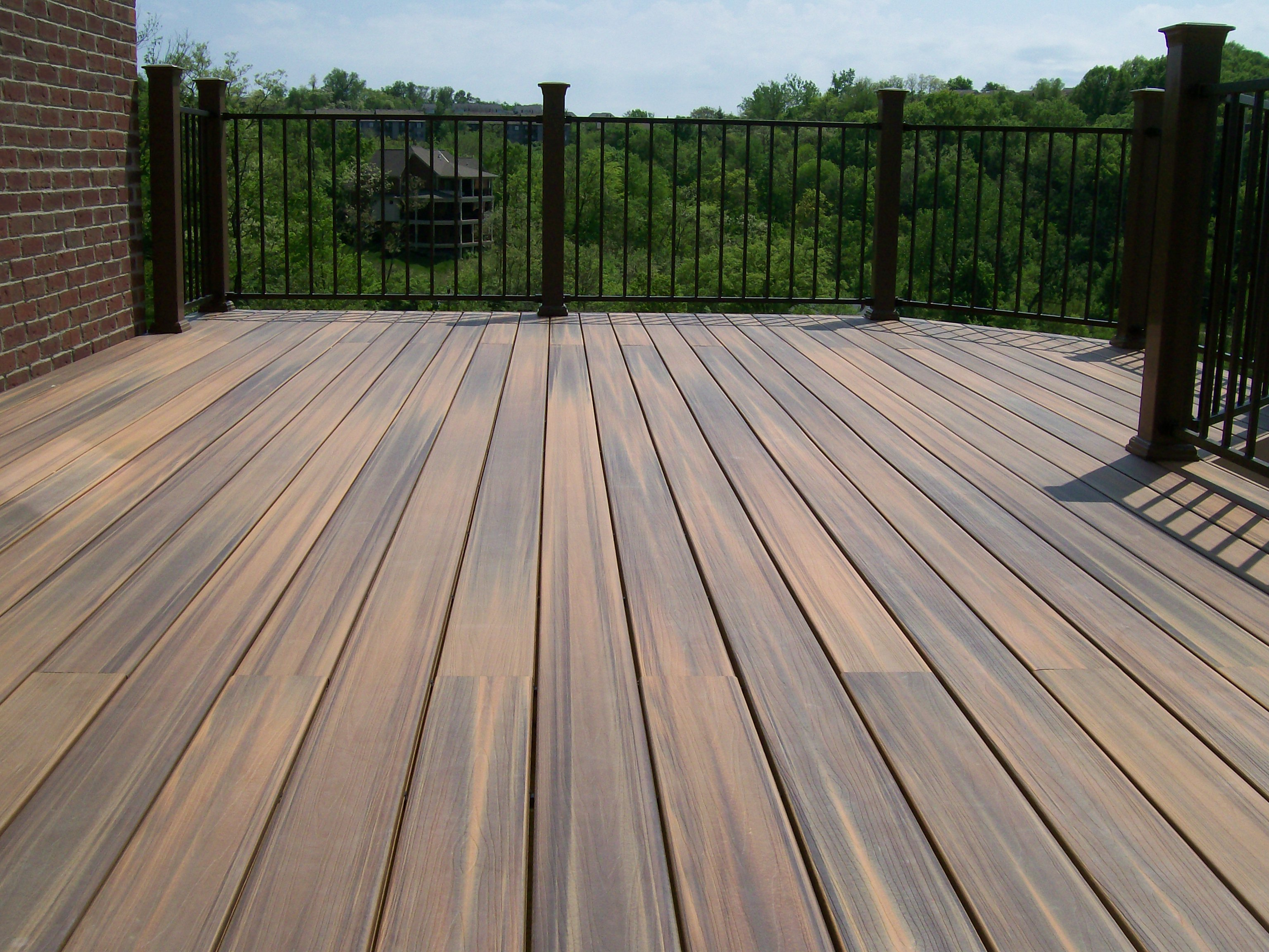 Composite decking what you need to know carney assembly for Outside decking material