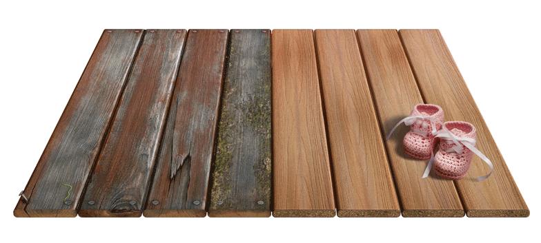 Composite Decking vs Wood Decking Carney Assembly Gardens